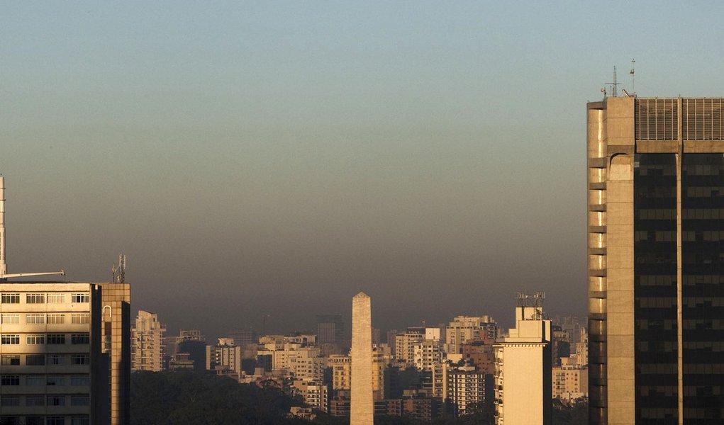 Índice de poluição deixa São Paulo em alerta