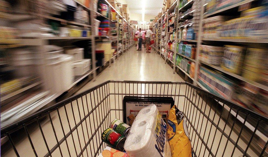 Projeção para inflação em 2016 cai após 6 altas seguidas