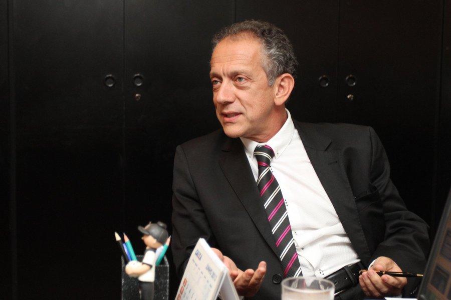 Ministro Padilha se reúne com o deputado Walter Feldman, São Paulo.  Foto: Karina Zambrana - ASCOM/MS
