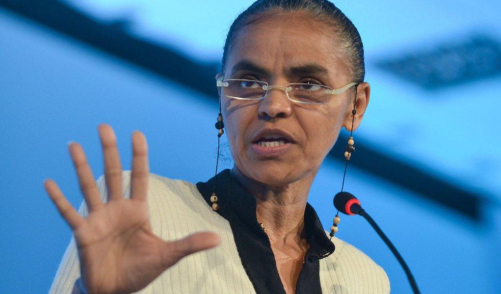 Marina: Dilma, Aécio e Campos estão no mesmo diapasão