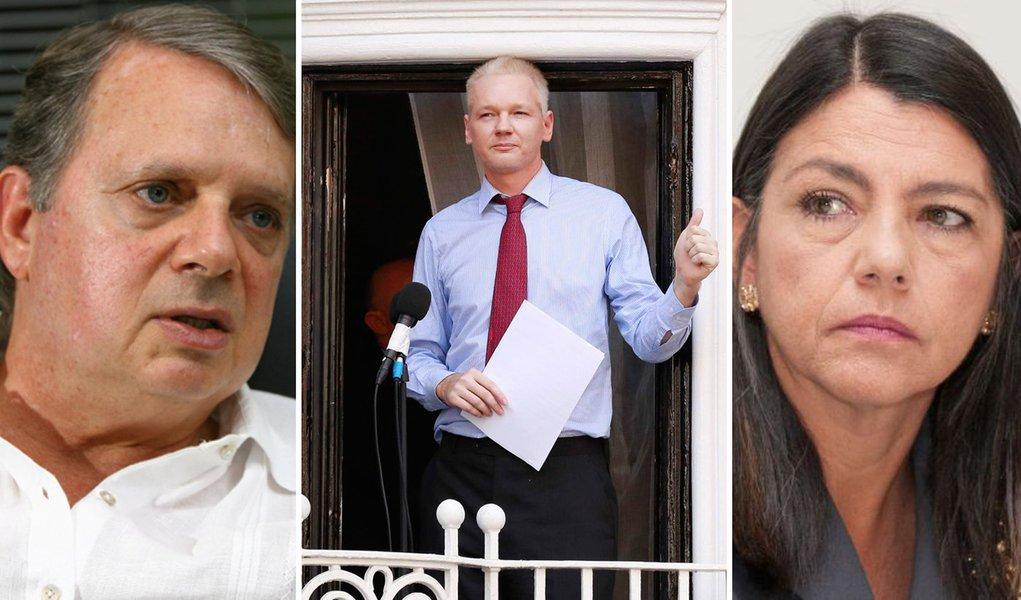 Revolucionário Assange já fustigou Tasso e Roseana