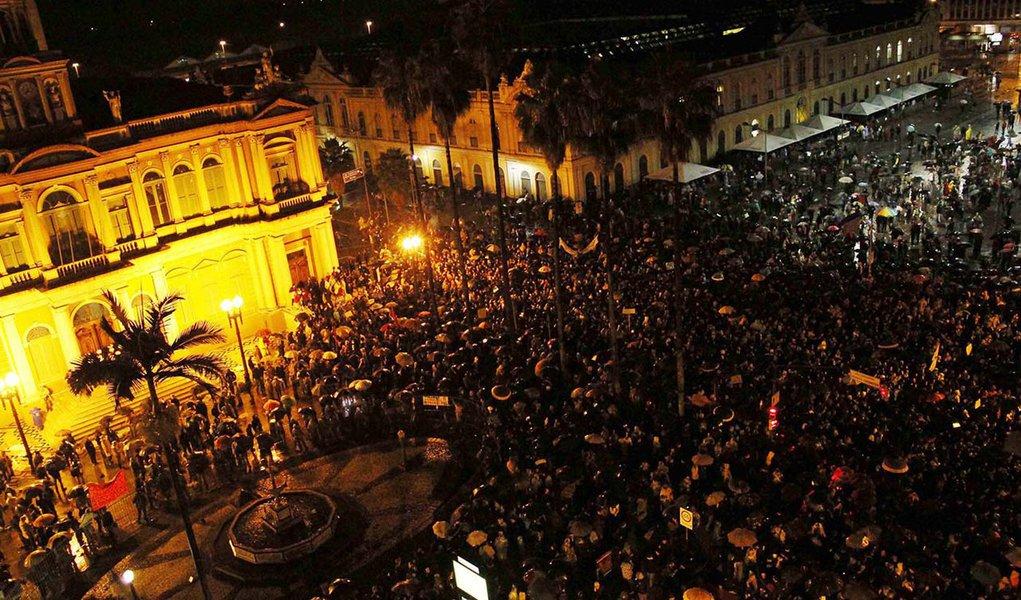 SDS reduz para 52 mil número de manifestantes