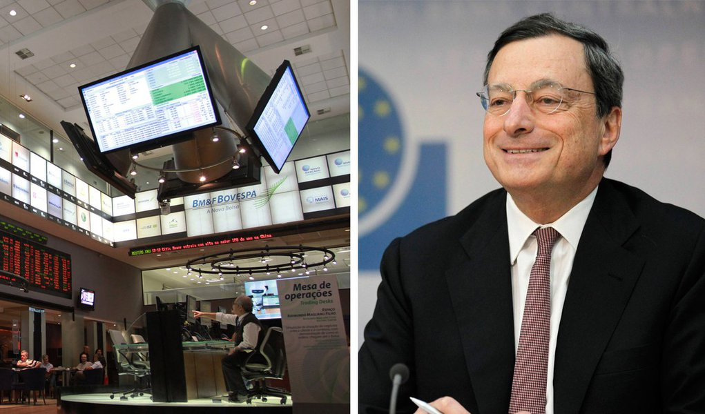 Otimista com a Europa, Ibovespa fecha em alta de 4,7%