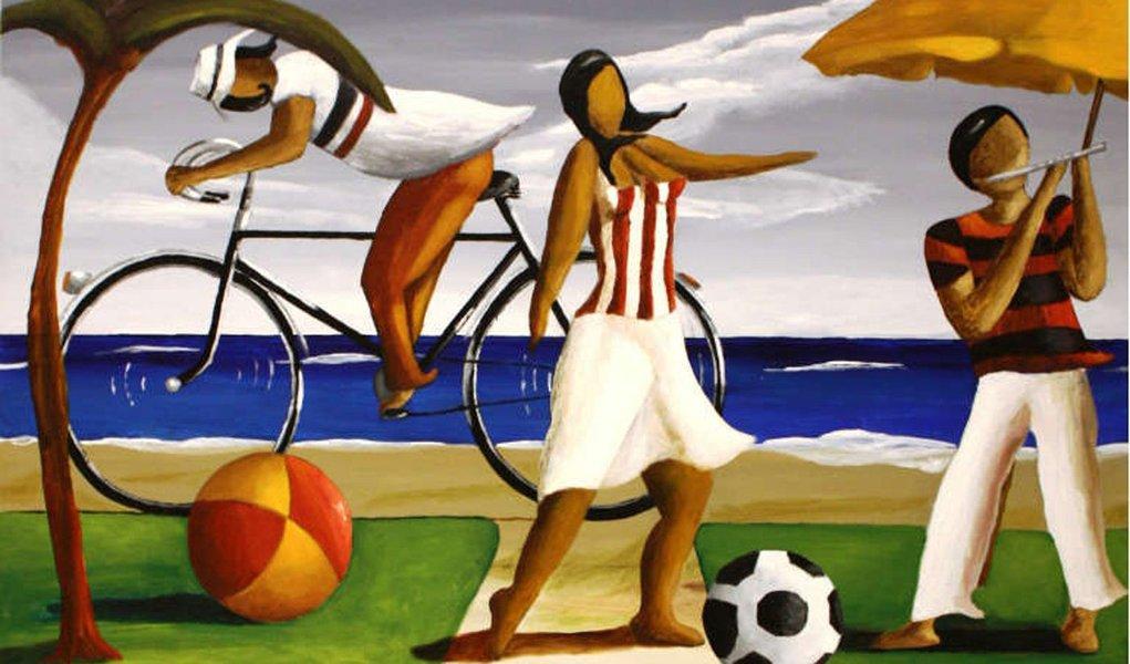 Exposição no Recife traz artesanato inspirado no futebol