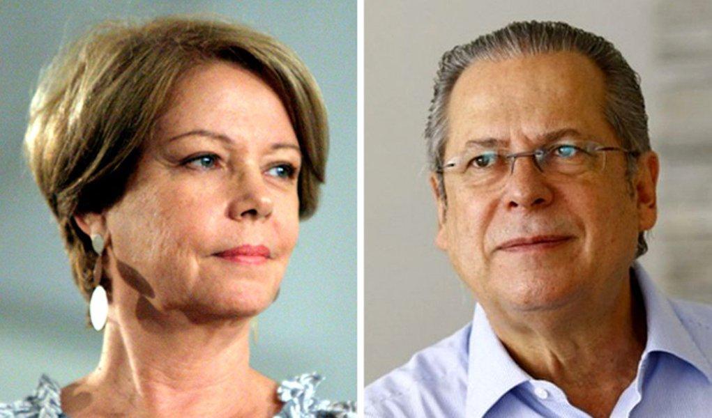 Condenação de Dirceu tiraria peso dos ombros do STF