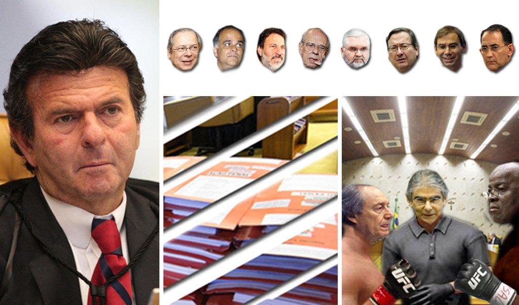 """""""Voto pela condenação"""", diz Fux; 3X1 contra réus"""