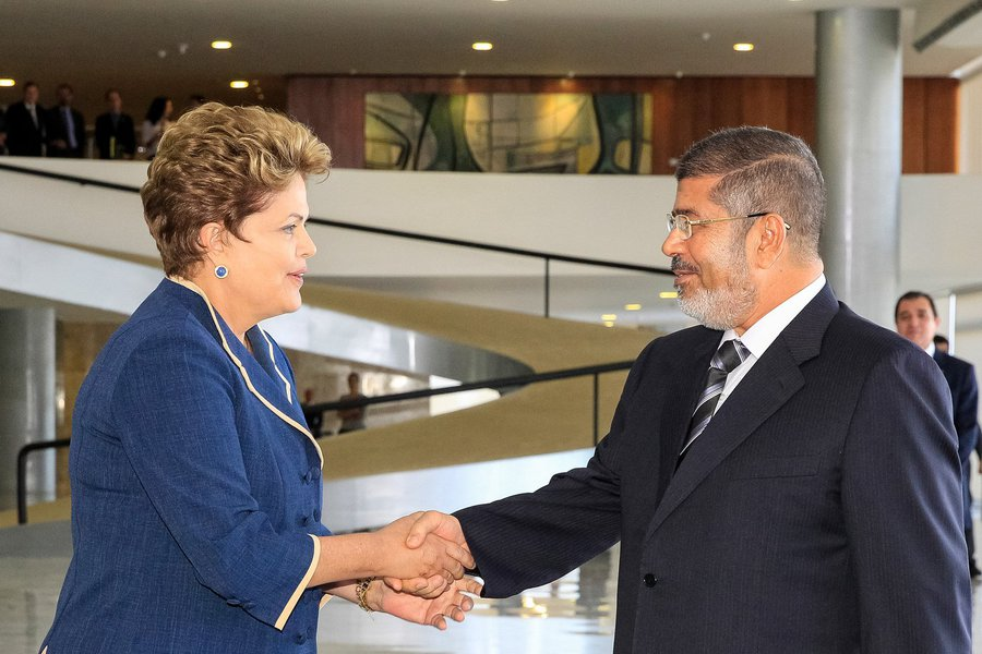 Dilma agradece apoio egípcio a brasileiro na OMC