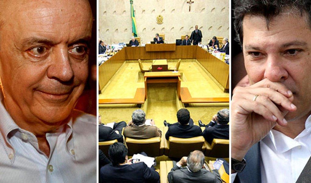 A caminho da prisão ou da prefeitura de São Paulo?