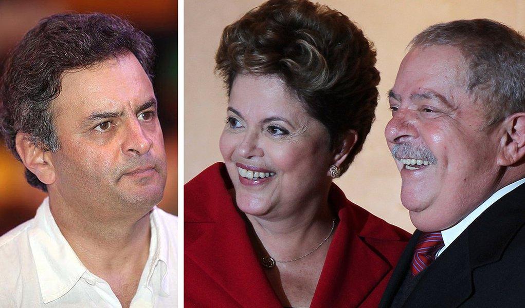 Aécio perderia para Lula e Dilma em 2014
