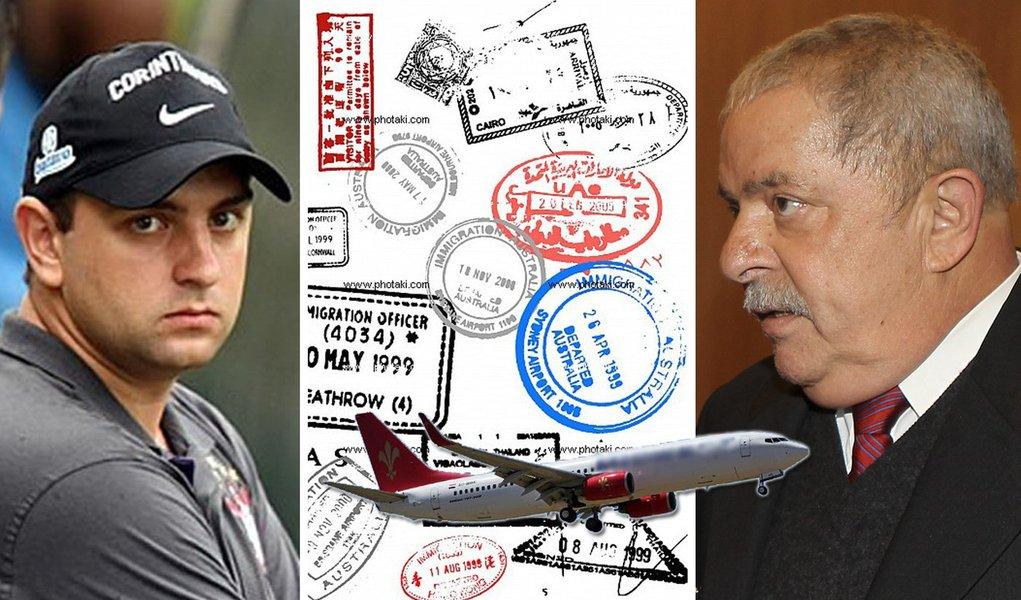 Filho de Lula pode voltar a usar passaporte diplomático