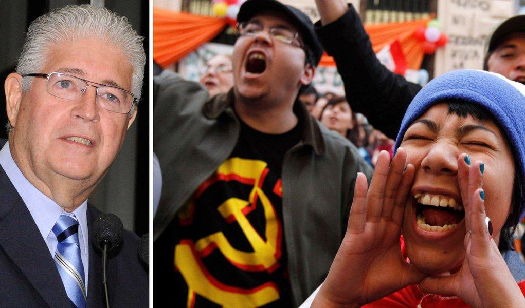 """Quem apoia Franco apoiaria golpe no Brasil"""
