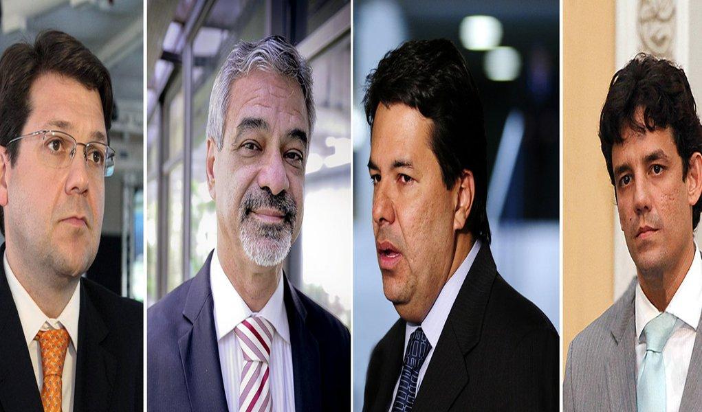 O dia dos candidatos a prefeito do Recife