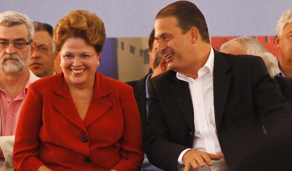 Dilma: Pernambuco é uma onça nordestina