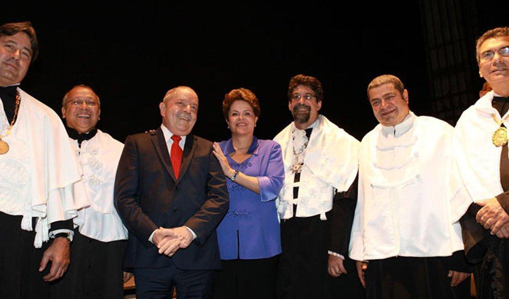 Lula, cinco vezes Doutor Honoris Causa no Rio