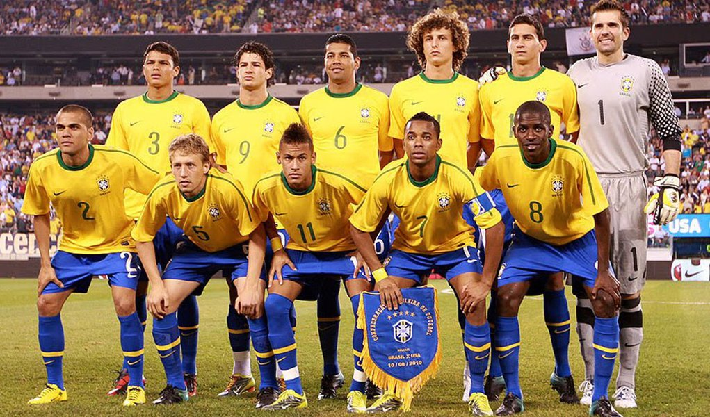 Brasil cai para sétimo lugar no ranking da Fifa
