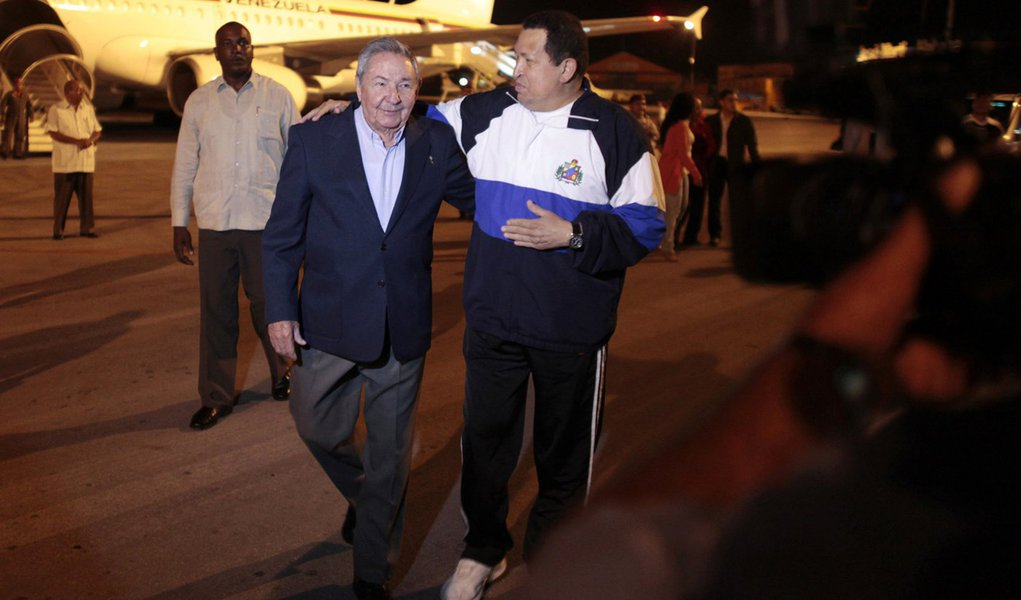 Chávez volta a Havana para última sessão de radioterapia