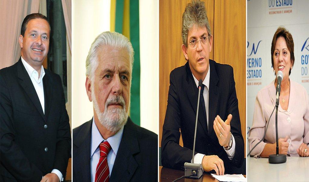 Governadores do NE se reúnem para discutir seca