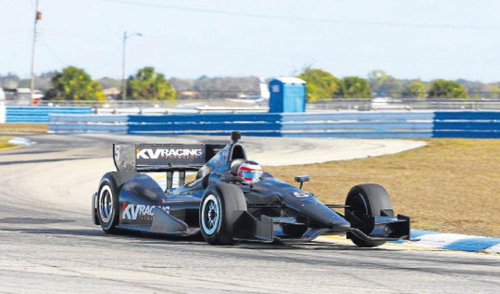 Barrichello anuncia acordo para correr na Indy em 2012