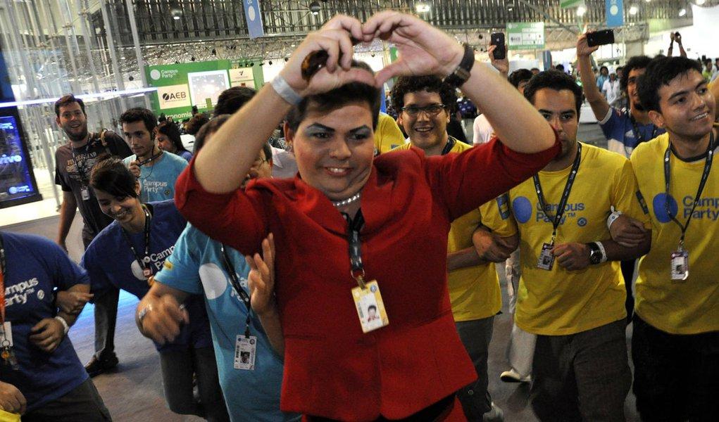 """Até """"Dilma"""" foi à Campus Party"""