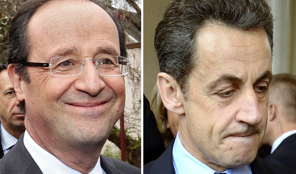Na França, Hollande supera Sarkozy no primeiro turno
