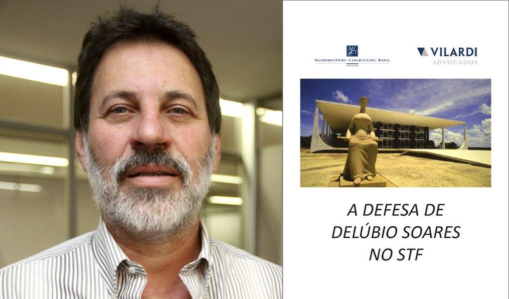 Delúbio Soares lança 'cartilha' colorida em sua defesa
