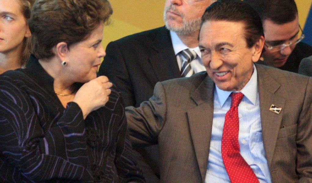 Plano de Dilma é trocar Sarney por Lobão