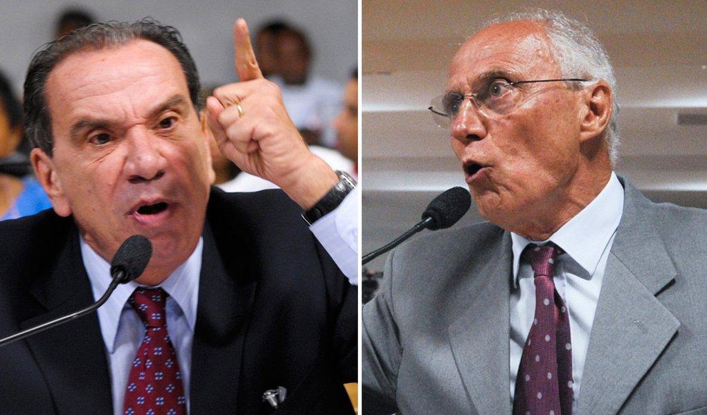 Suplicy e Aloysio Nunes duelam sobre Pinheirinho