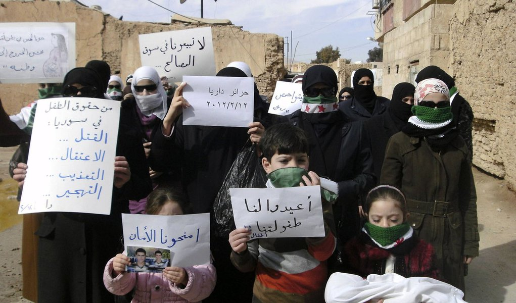 Países árabes devem reconhecer oposição Síria