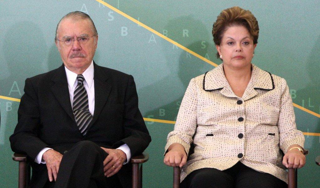 Agora sem Sarney, Dilma suspende votações