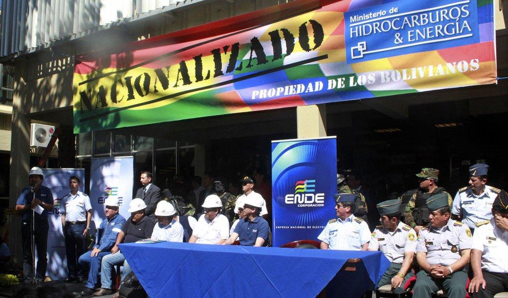 Empresa espanhola nacionalizada pela Bolívia quer indenização