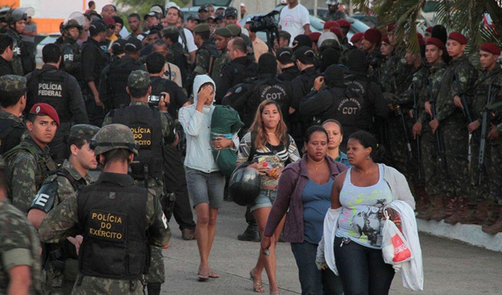 Fotógrafo do 247 relata rendição dos PMs