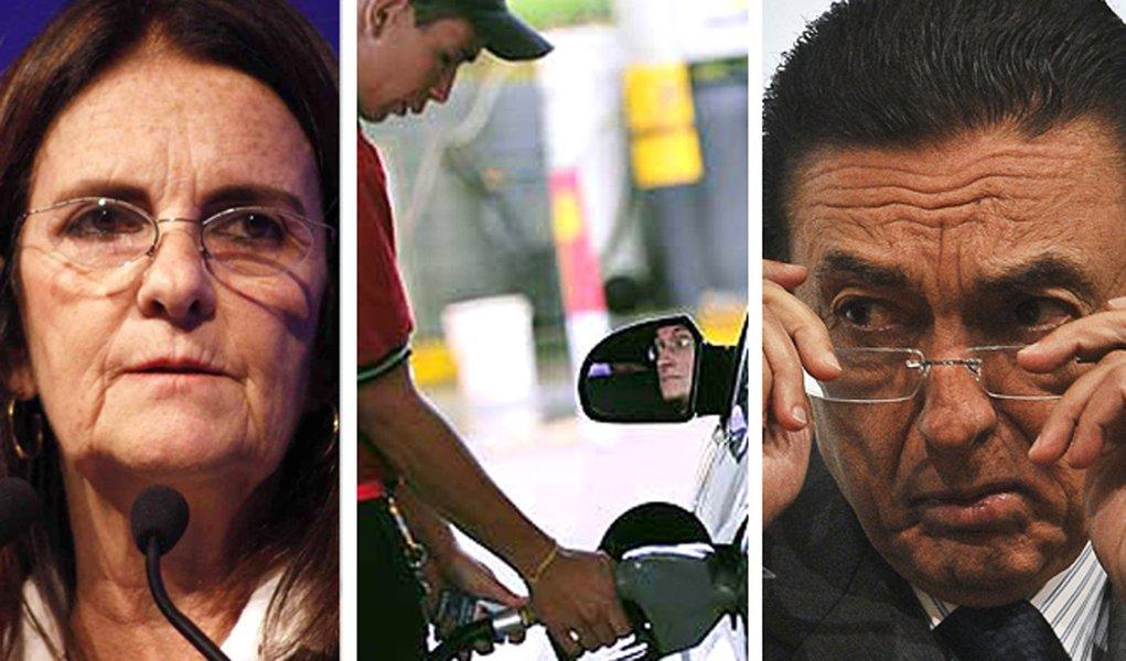 Petrobras analisa aumento de 15% na gasolina