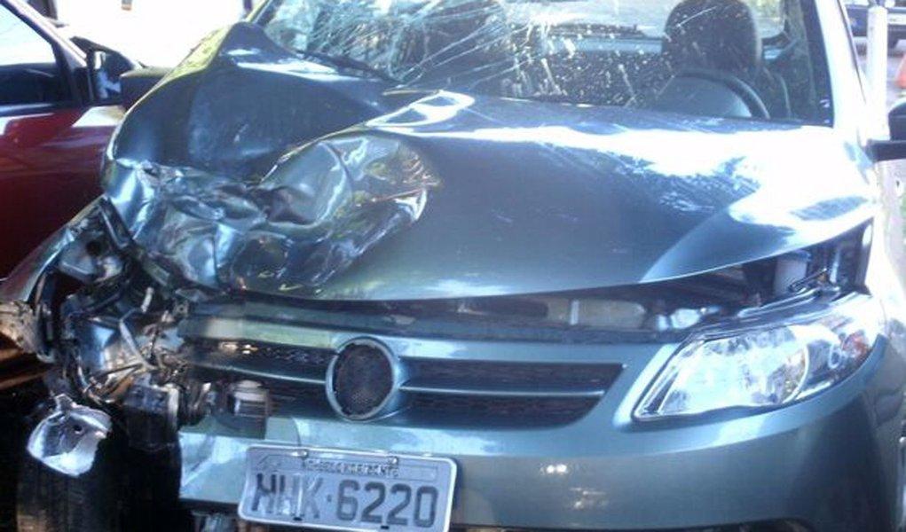 Embaixador Sérgio Amaral sofre acidente em Goiás
