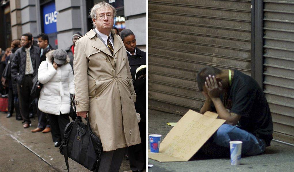 EUA têm o maior número de pobres em 52 anos