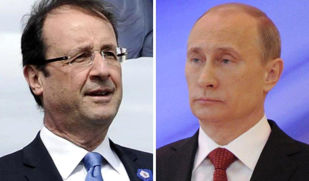 Hollande e Putin vêm para a Rio + 20