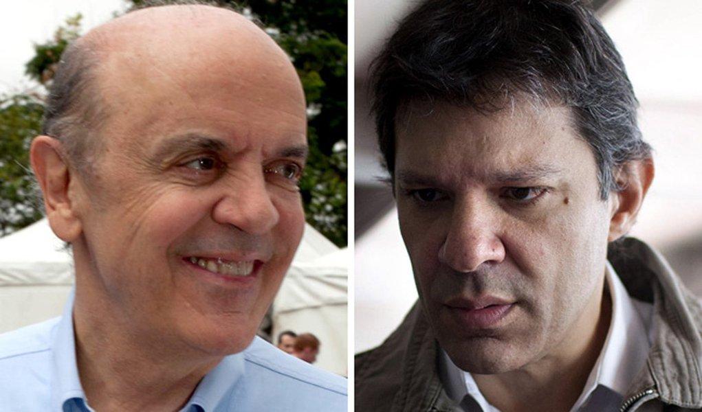 Ibope: José Serra bate Fernando Haddad por 10 a 1