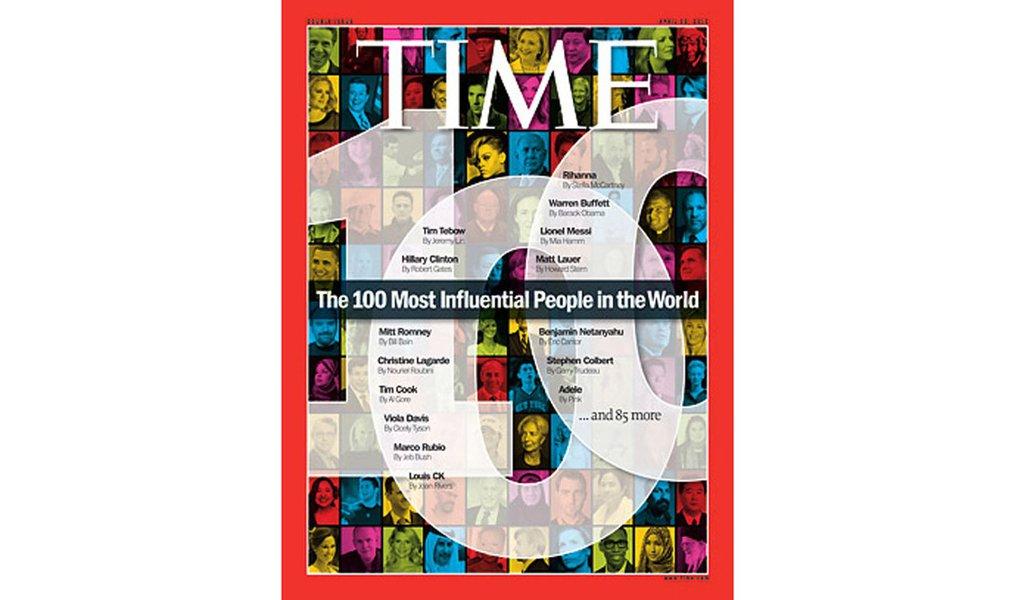 Lista dos 100 mais influentes da Time traz três brasileiros