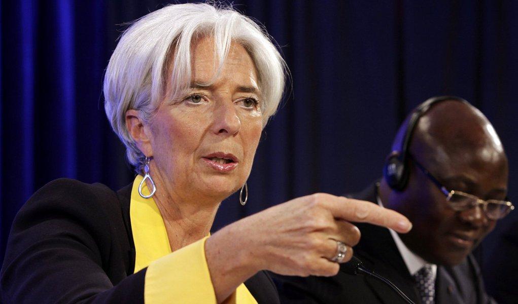 """Lagarde: """"É do interesse dos Bric criar o máximo de confusão"""""""