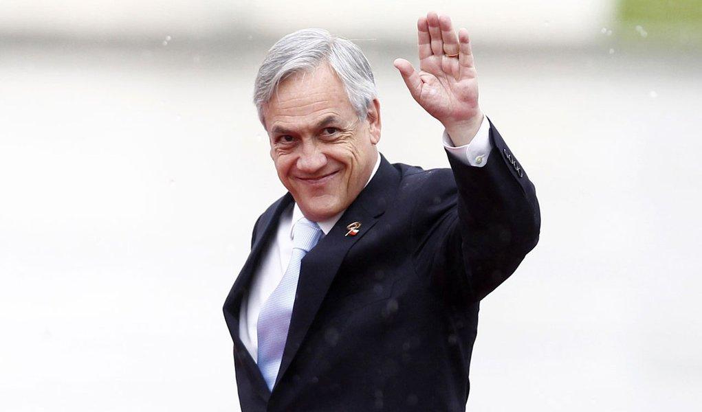 Aprovação de Piñera não para de cair