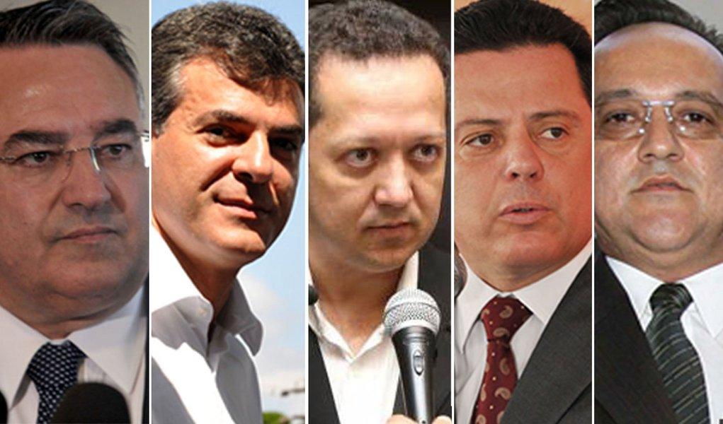 Governadores de MT, PR e SC abordados por jogo