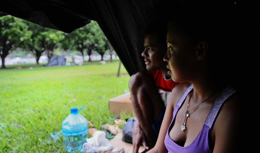 Só 10% dos moradores de rua do DF vivem de esmola