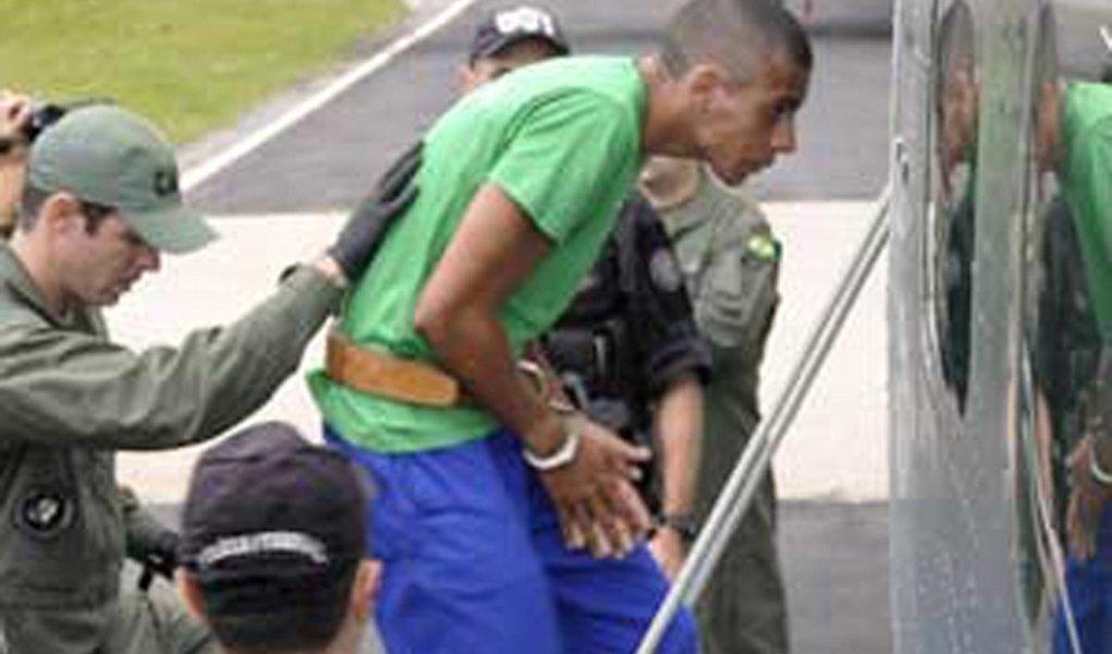 Traficante Nem é transferido para presídio federal em MS