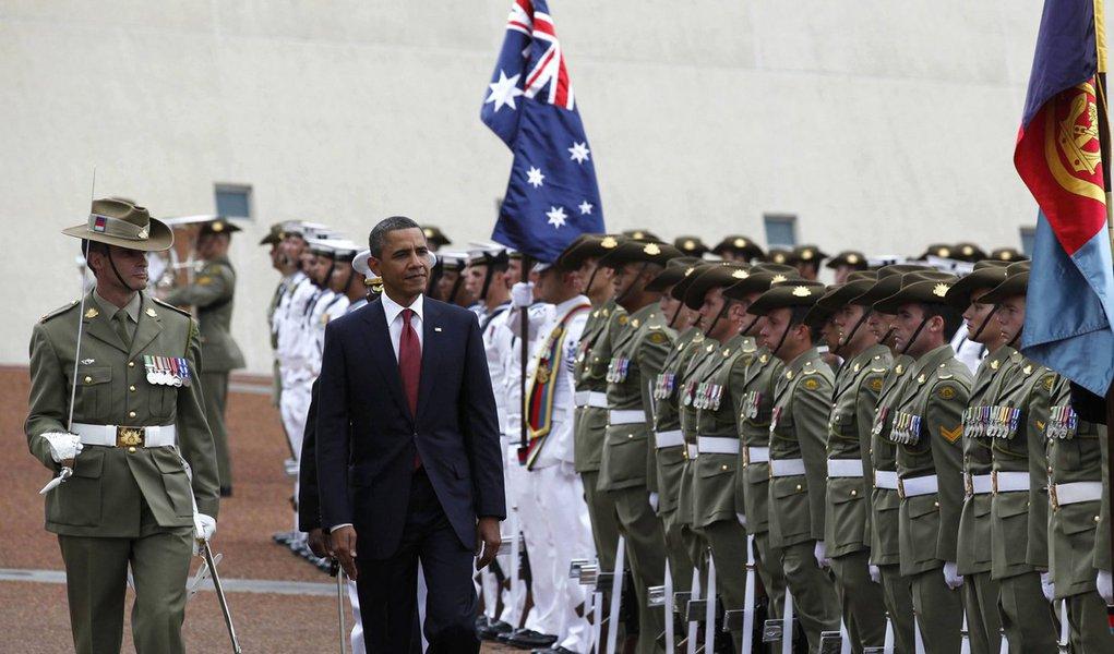 Austrália faz seguro para Barack Obama contra crocodilos