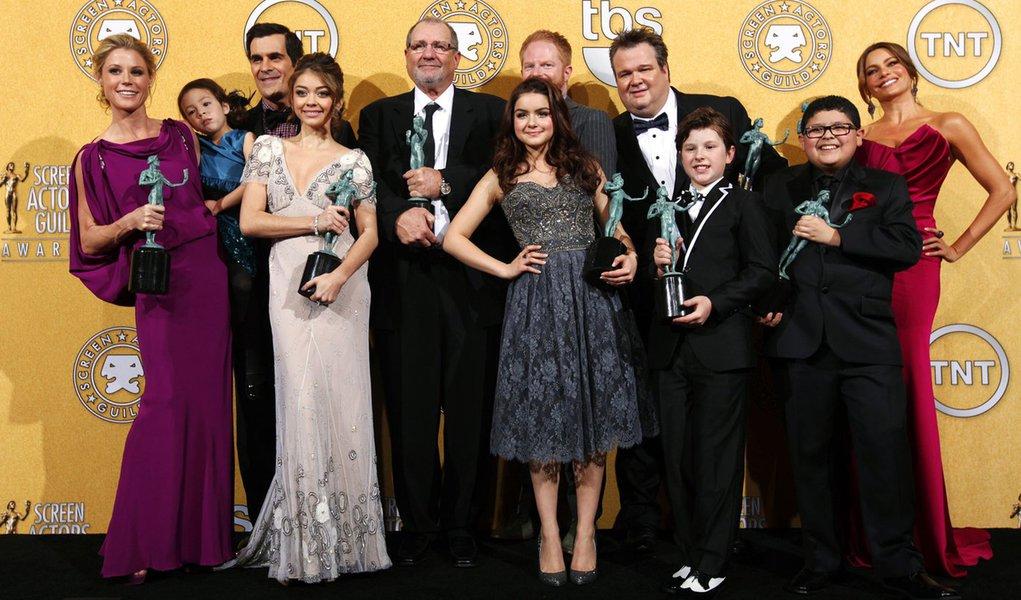 """""""Modern Family"""" se consagra como a melhor série de 2012"""
