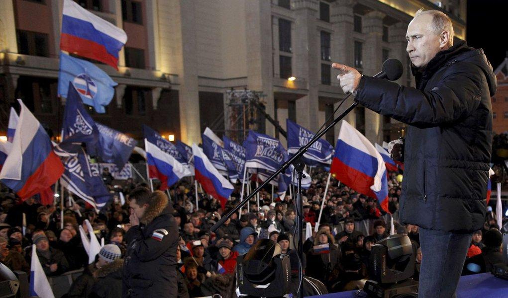 Putin diz que eleições foram abertas e honestas