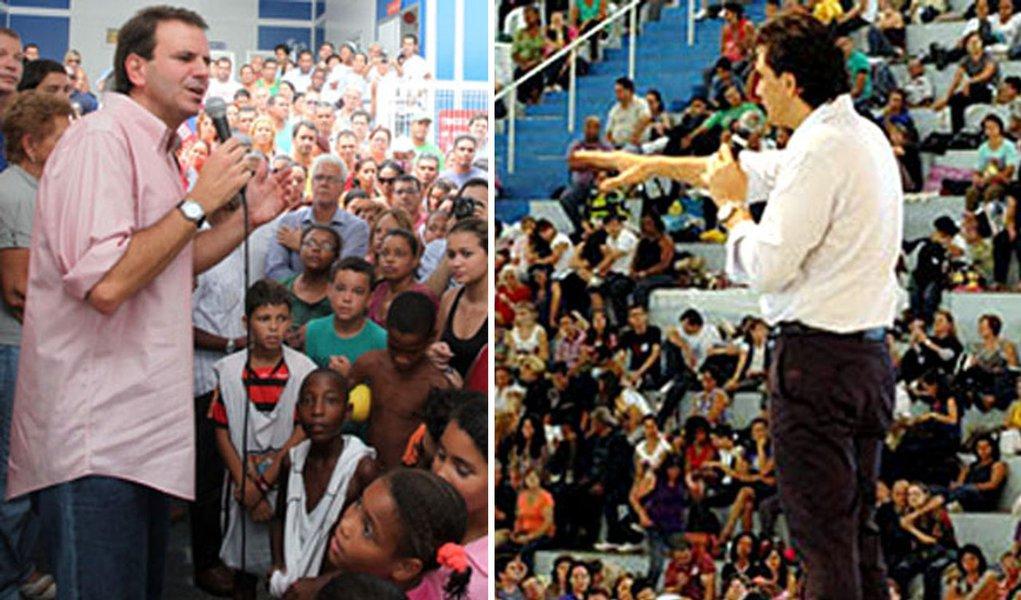 Sucesso de Paes no Rio inspira Chalita em SP