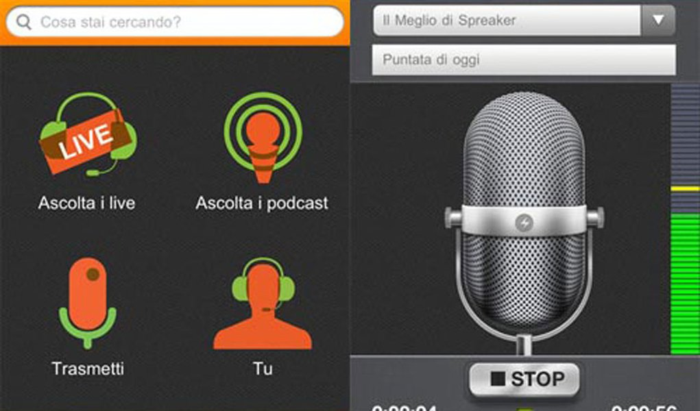 Com Spreaker Radio, você é o locutor da sua própria rádio