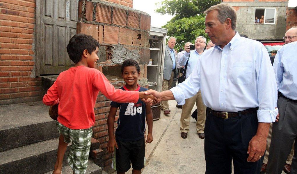 """""""Rio é ótimo exemplo"""", diz 'politicão' americano"""