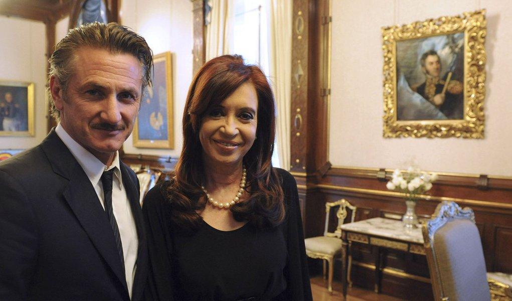 Sean Penn apoia Argentina na disputa pelas Malvinas
