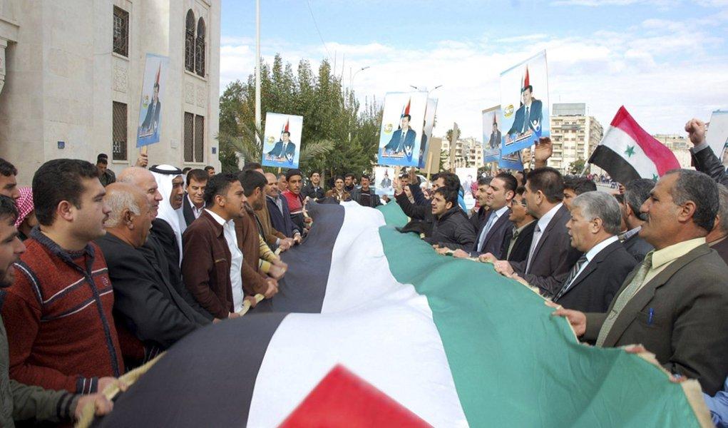 Síria pede reunião de emergência da Liga Árabe